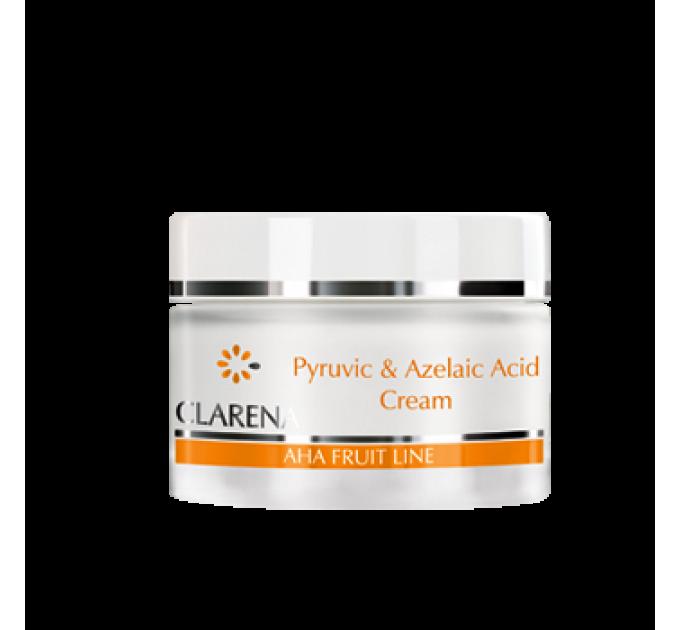 Cream with pyruvic and azelaic acids CLARENA PYRUVIC AND AZELAIC ACID CREAM 50 ml