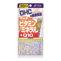 DHC vitamins + minerals + Q10 20 days