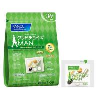 Комплекс витаминов для мужчин FANCL Good Choice Man 30 дней