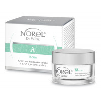 Norel Acne Anti-imperfection cream with LHA and silver ions 50ml